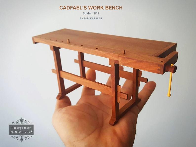 Miniature Cadfael's Work Bench Carpenter Table | Etsy