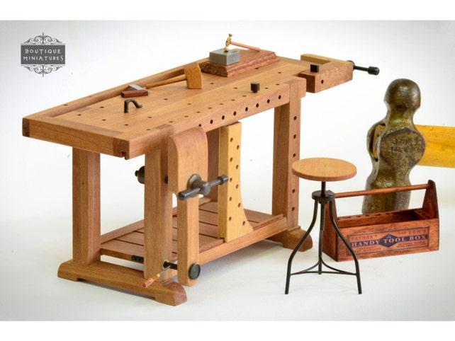 Tavolo Da Lavoro Roubo : Miniature roubo bench scandinavian workbench carpenter etsy