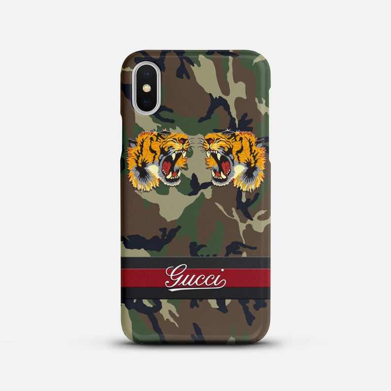 online retailer 04057 f6fc5 iPhone 7 Case Galaxy Gucci Tiger iPhone X Case Military iPhone XS Max Case  Louis Vuitton iPhone 6 Case iPhone 8 Plus Gucci iPhone XR Case