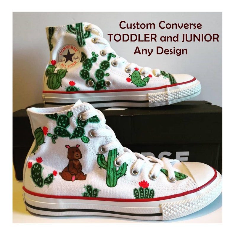 4403f52ba136 Kids Custom Hand-painted Converse Uni-sex Custom Converse