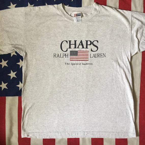 Vintage Ralph Lauren Chaps T-Shirt   Etsy 3d62c549dbb