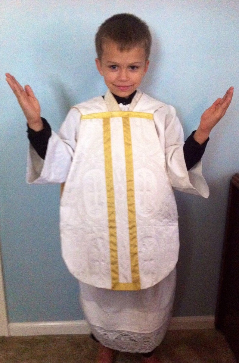 how to make a priest costume