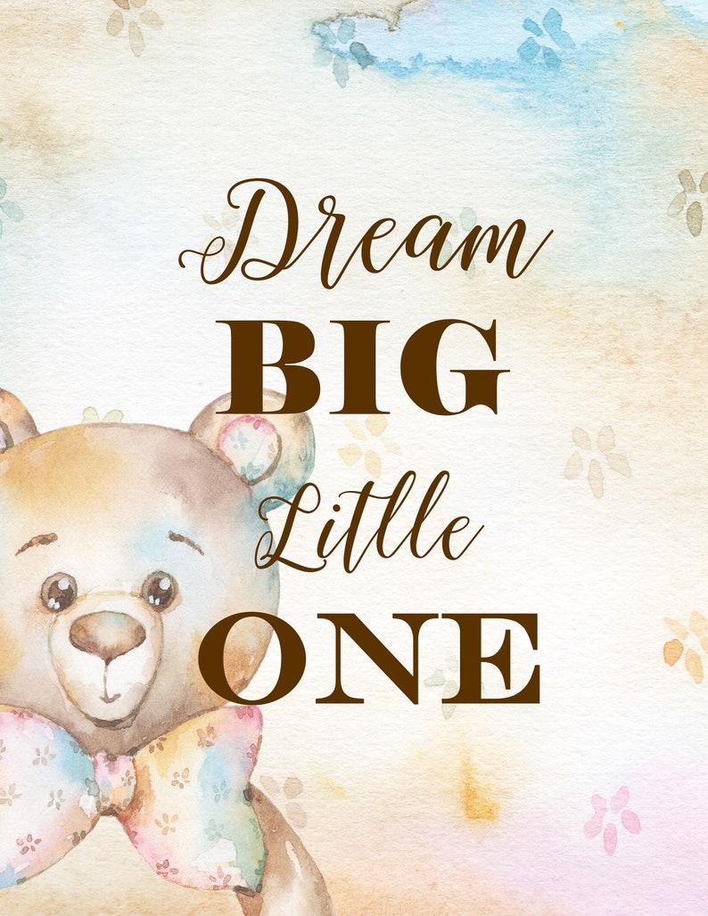 Traum den großen kleinen ein Kinderzimmer-Dekor Wandtattoo | Etsy