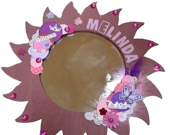 "Wrecked ""Mélinda"" Customize wooden mirror"