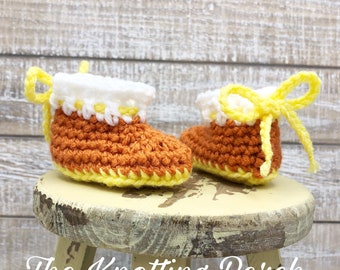 93e05e586 Candy corn booties