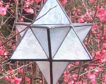Merkaba or Eight-Point Star Pattern