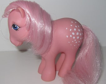 G1 My Little Pony COTTON CANDY 1982 concave hooves MLP great condition