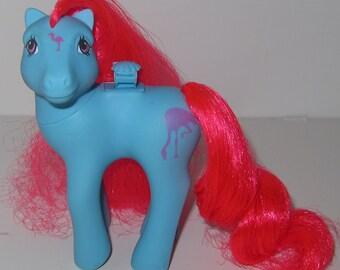G1 My Little Pony TROPICAL BREEZE Flutter Pony 80s MLP Great Condition Flamingo Symbols