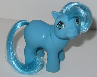 G1 My Little Pony MAIL ORDER Blue Baby Ember HTF Great Condition