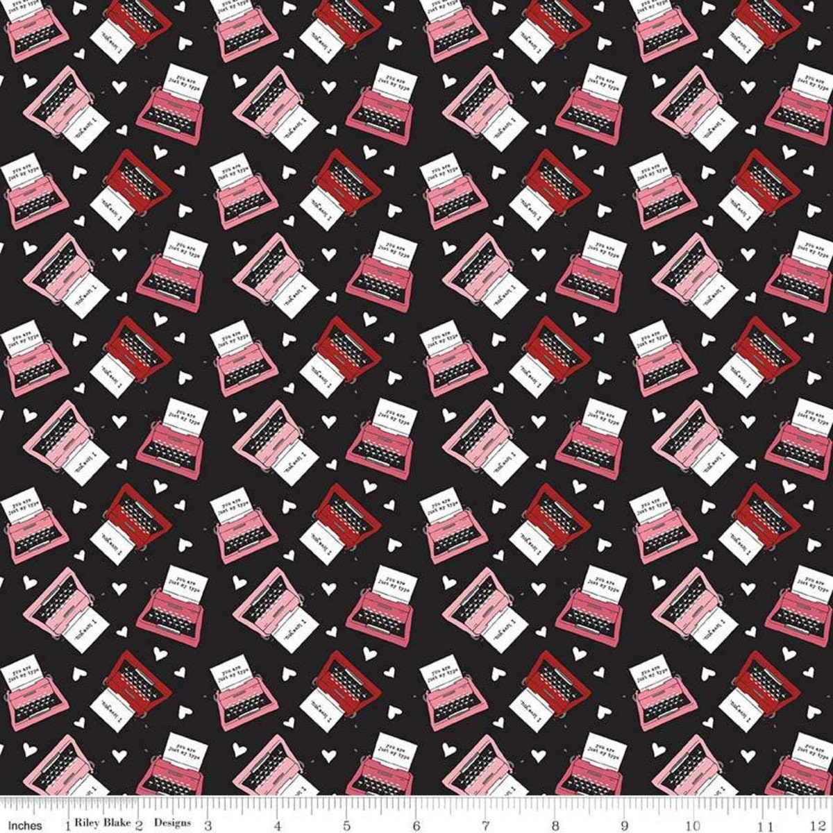 Valentine Fabric Holiday Fabric Hello Sweetheart By Riley Blake