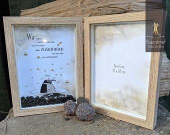 """Picture/folding frames > For favorite people > """"We don't have everything ..."""" Photo gift"""