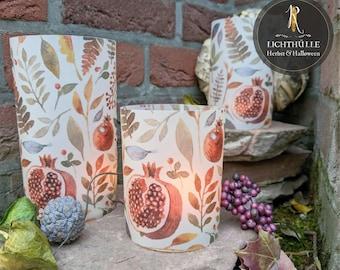 "Light envelope / lantern > Autumn & nature < ""forest fruits"" bright - various. sizes"