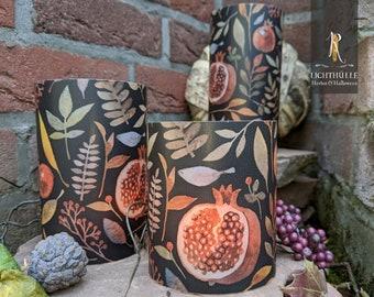 "Light envelope / lantern > autumn < ""forest fruits"" dark - various. Sizes"