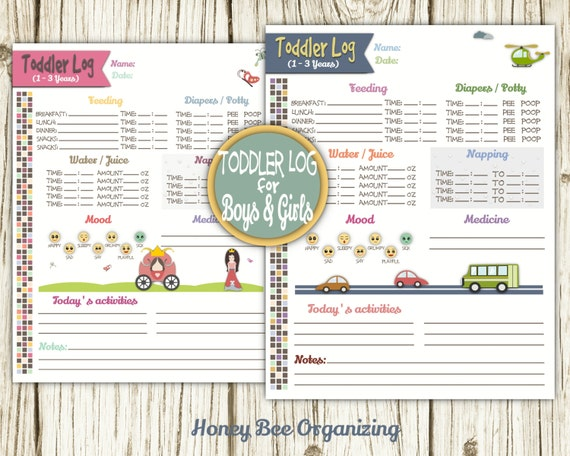image about Printable Caregiver Forms named Baby Log Printable - Nanny Log - Babysitter Article - Caregiver Tracker - Childcare Day-to-day Log - Infants Agenda Nanny Chart - 8.5x11