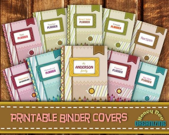 Hauptmanagement Binder deckt Binder Cover Vorlagen