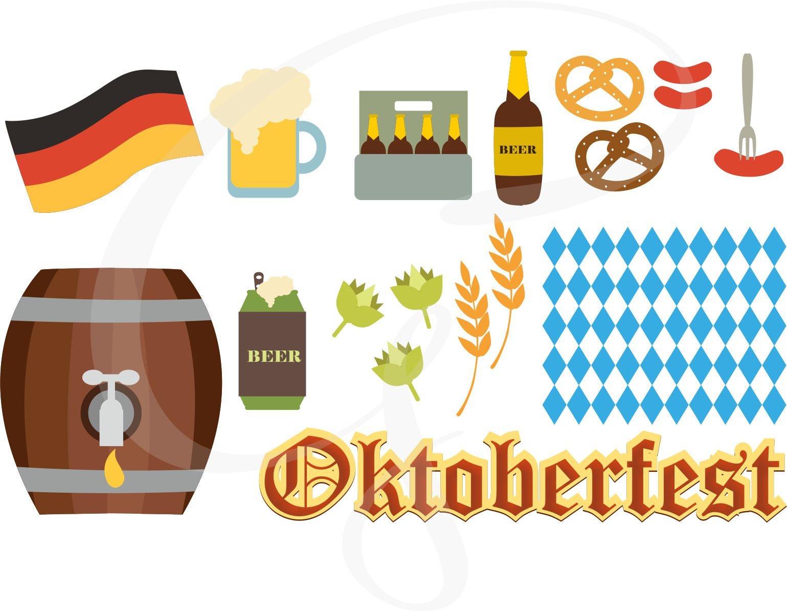 Oktoberfest Vector Oktoberfest Clipart Commercial Use