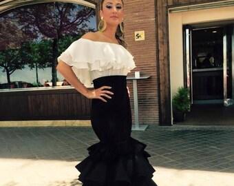 da9eb85fcc52 Flamenco dress | Etsy
