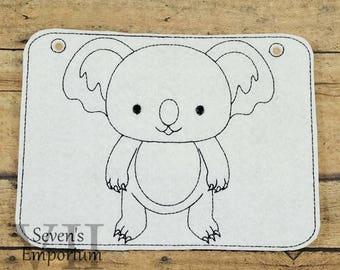 Coloring Koala Etsy