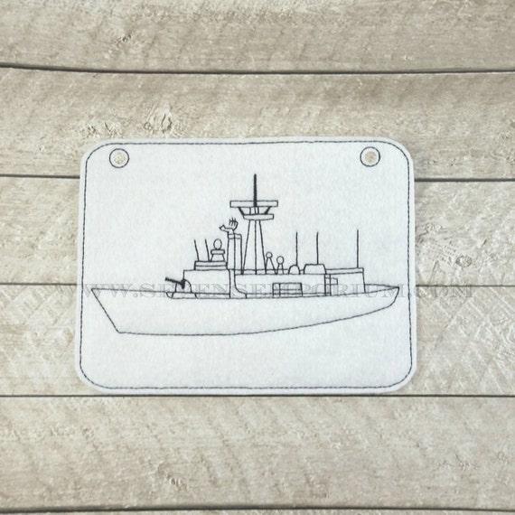 Militares Marina Costa guardia fragata barco vehículo en los | Etsy