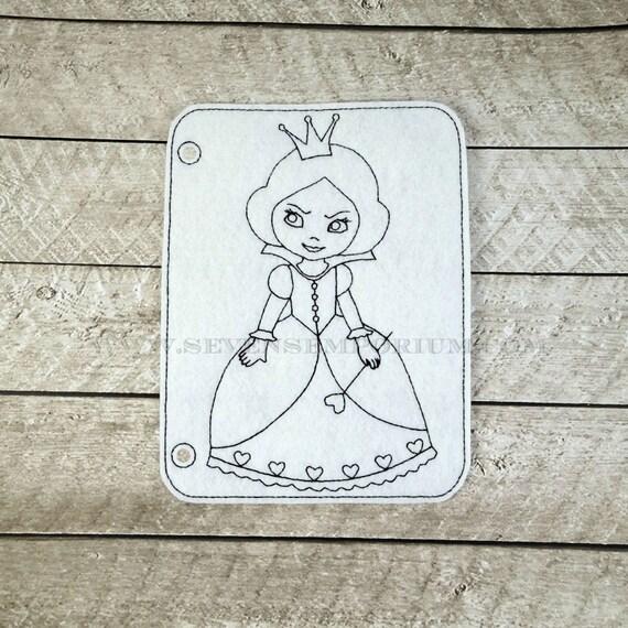 Alicia en el país de las maravillas Reina de corazones en los | Etsy