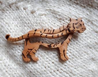 Tiger wood pin