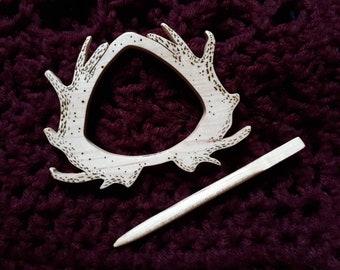 Plume pin/brooch