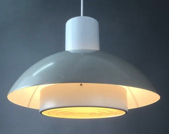 Classic danish Fog & Morup ceiling light from 1977.