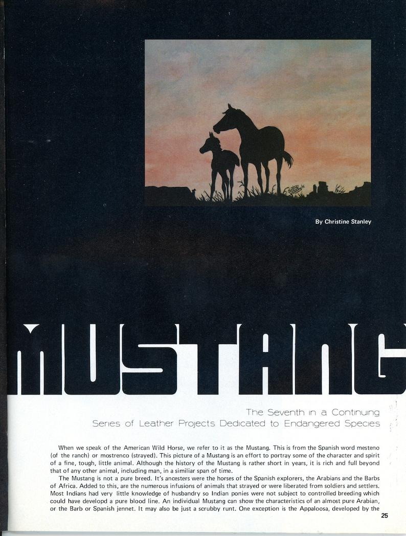 Leather Craft October-November 1976 Leather Craft Magazine Vintage Make It With Leather Magazine