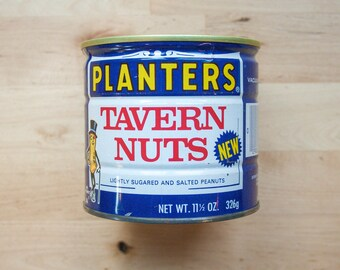 Planters Tavern Nuts Tin