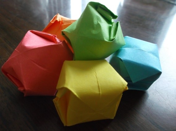 Paper N Pearlz - #Origami Cubes by #TomokoFuse... | Facebook | 425x570