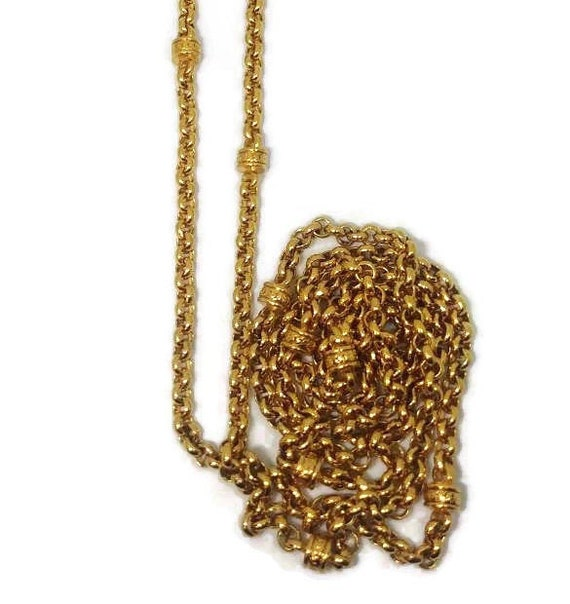 Gold D'Orlan Chain - Gold D'Orlan Necklace - Signe