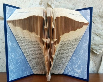 Medicine symbol - Folded Book Art - Fully Customizable, medical, doctor, nurse