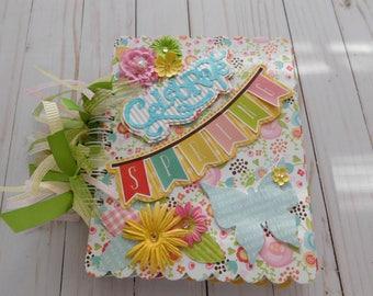 Springtime Mini/ Springtime Scrapbook