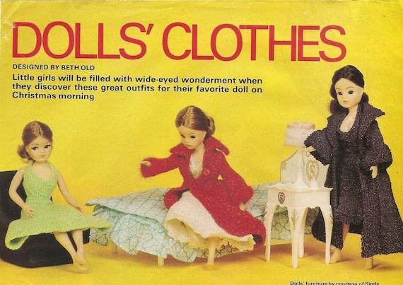 Vintage Sindy Knitting Patterns From New Idea 1976 Etsy