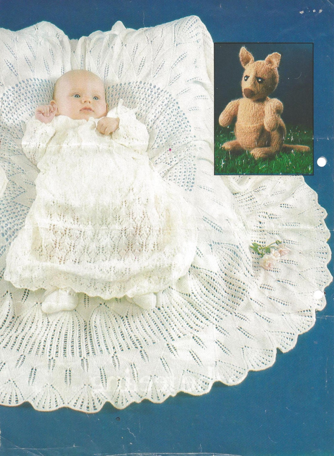 Vintage Baby Knitting Pattern Designed For Royal Baby Prince 1982 ...