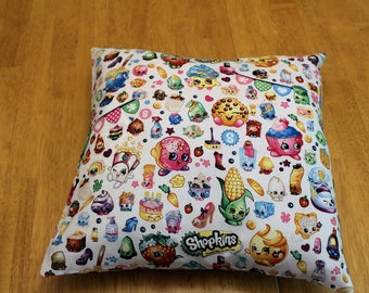 Shopkins Throw pillow cover