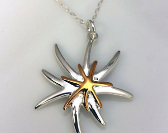 Sterling Silver Neuron Necklace, Biology Jewelry, Science Necklace, Geek Jewelry, Neuron Pendant