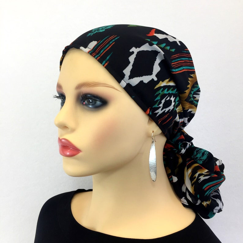 663fbd38bed Pre Tied Chemo Head ScarfWomen s Cancer HeadcoverHair