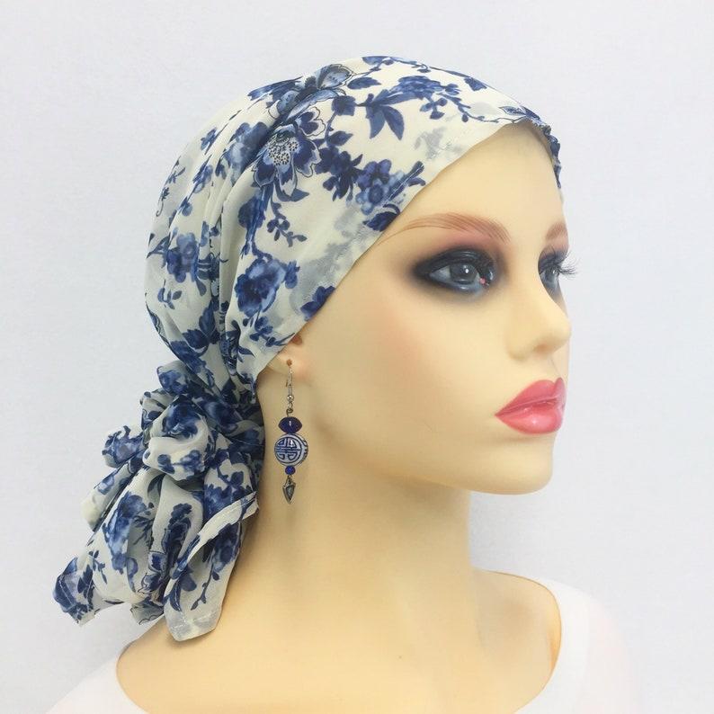 5b1d5958e33 Pre Tied Chemo Cancer Hair Loss Head ScarfChemo HatChemo