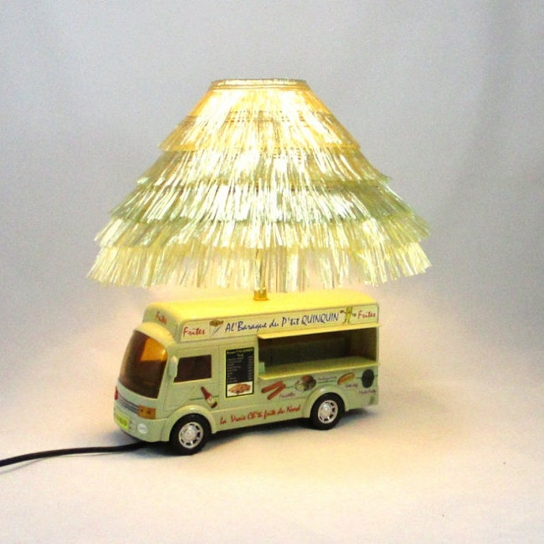 Lampe Food Truck De Camion Chevet Lampes Frites Enfant Jour Parasol Abat Façon Raphiarêve 9eEIWDH2Y