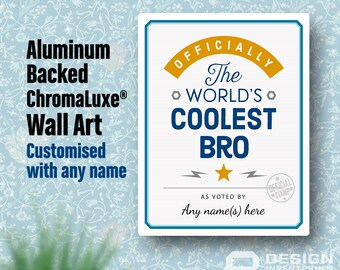 Bro Gift, For A New Bro! Birthday Gifts For Bro! New Bro Gift, Bro To Be,  Bro Picture Frame, Personalized And Delivered Direct To Your Door