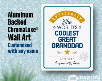 Great Granddad Gift, New Great Granddad! Birthday Gifts For Great Granddad! New Great Granddad Gift, Great Granddad To Be,  Great Granddad