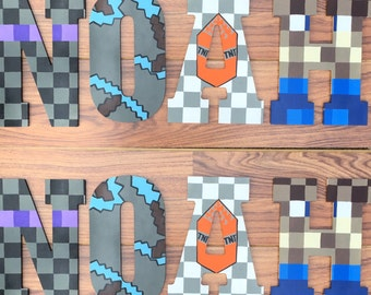 """Minecraft Letters 10.5"""""""