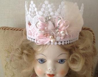 Child Crown Tiara, Photo Prop, Headdress