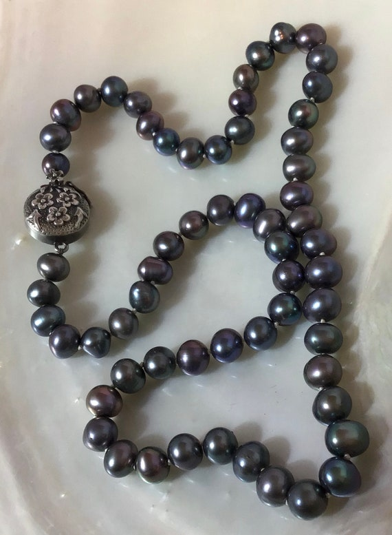 Necklace, Pearl Necklace, Vintage Pearl Necklace,