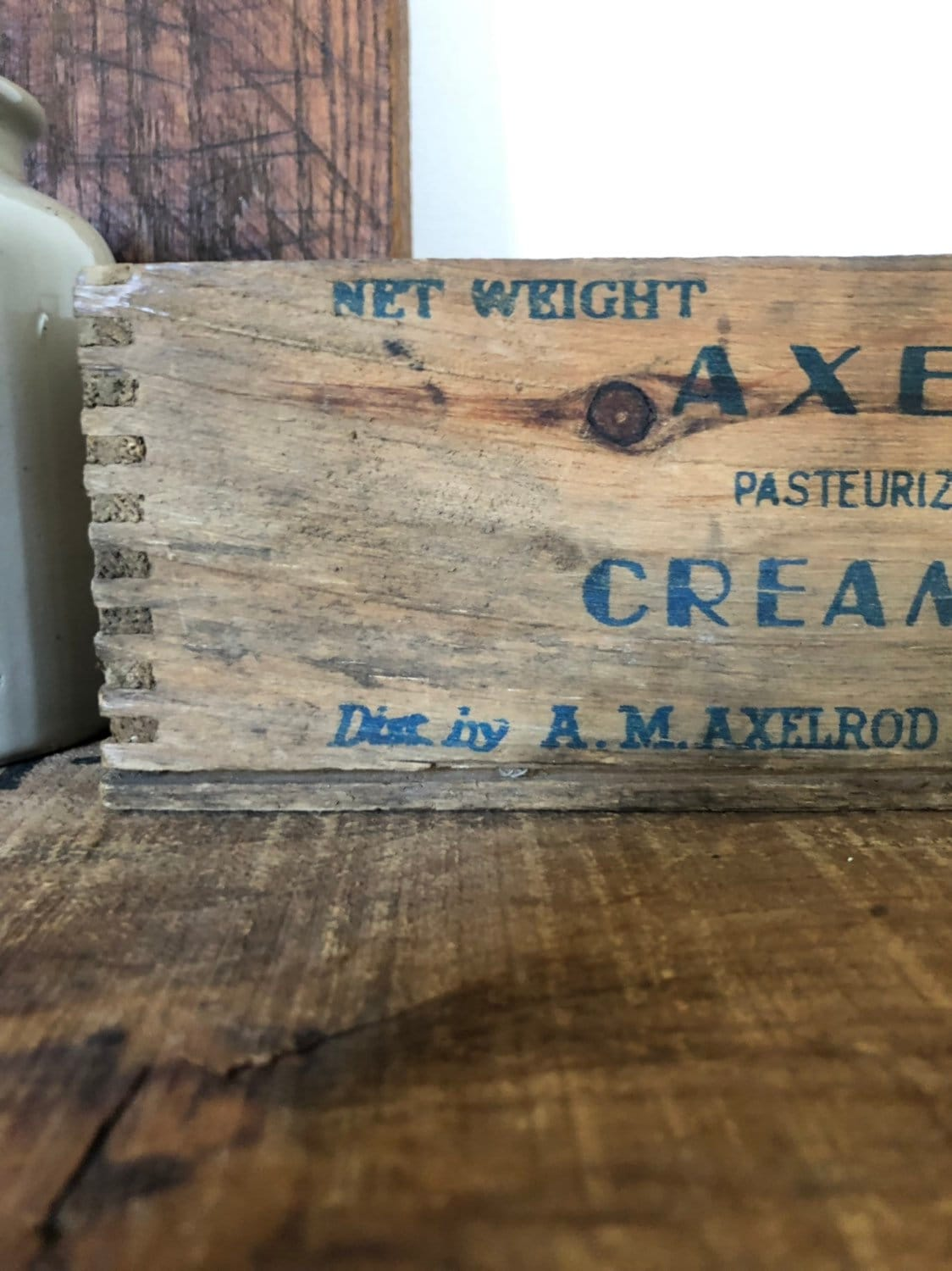 Vintage Wooden Cheese Box Crate Vintage Cheese Box Wooden