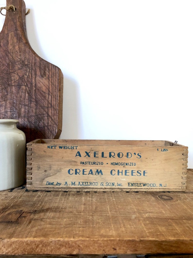 Vintage Wooden Cheese Box Crate Vintage Cheese Box Wooden Planter Box Small Wooden Crate