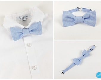 24d14f2fa934 baby boy bow tie toddler boy bow tie ringbearer outfit blue bow tie