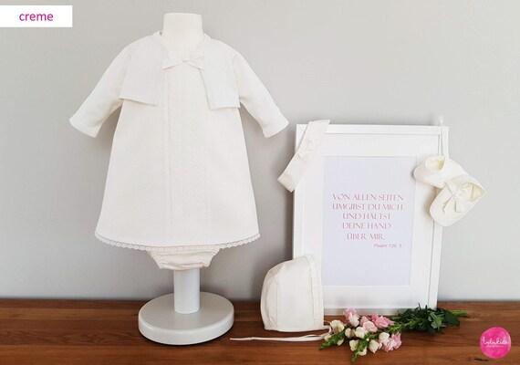 Taufschuhe pour taufkleid des chaussons de bébé ballerine blanc-rose coeur rose 17,18,19,20