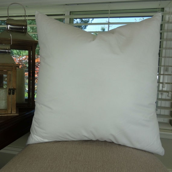 40x40 Feather Pillow Insert Made In USA 4040 Feather Down Etsy New 20 Feather Pillow Inserts